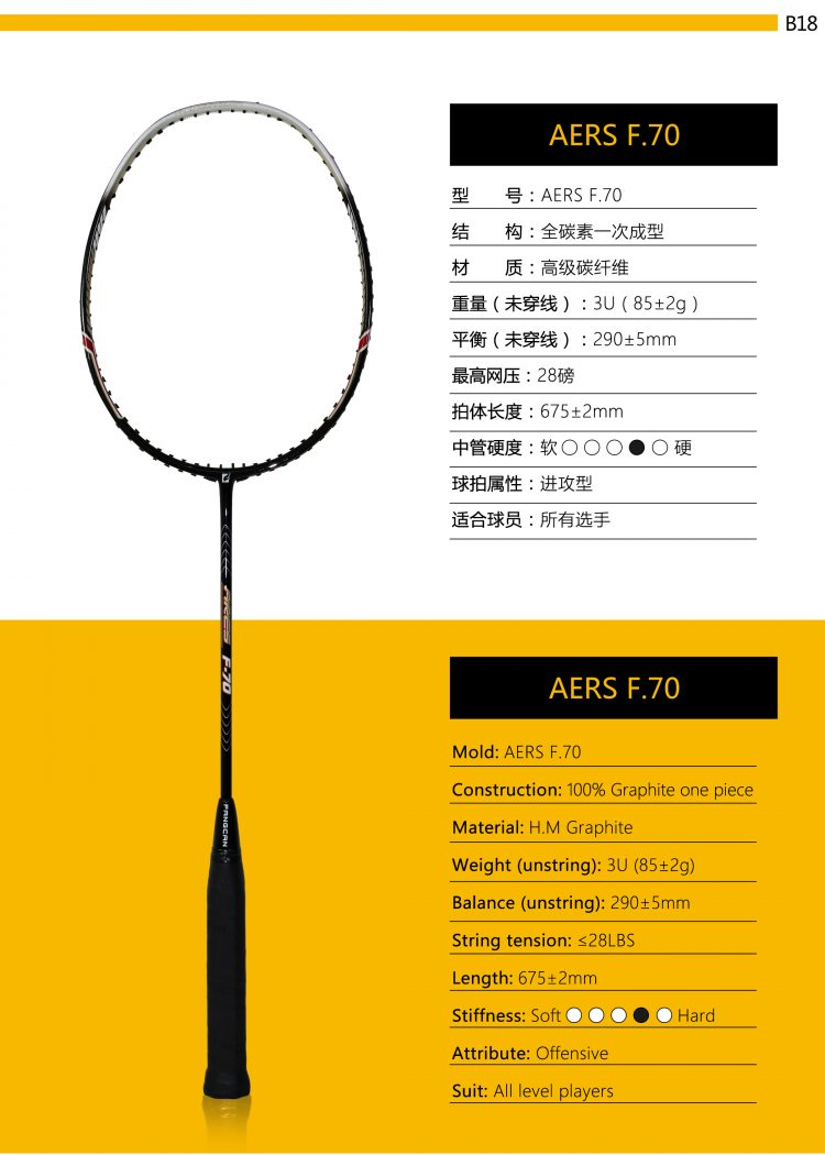 B18_Badminton Racket