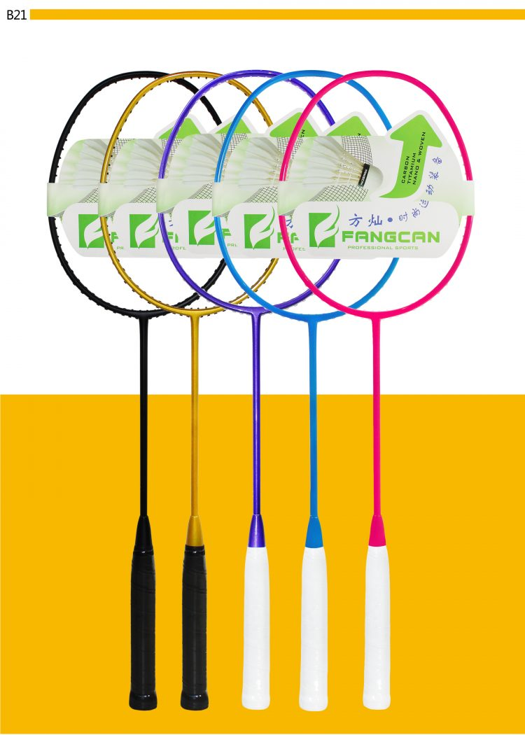 B21_Badminton Racket