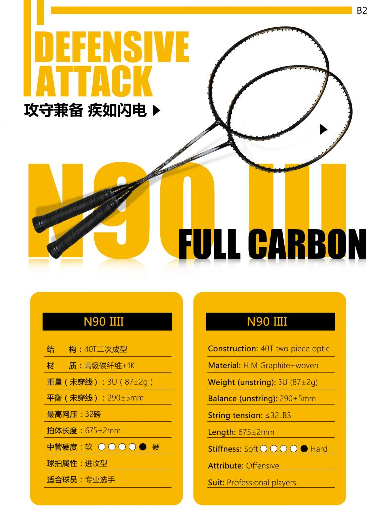 B2_Badminton Racket