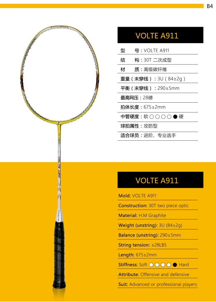 B4_Badminton Racket