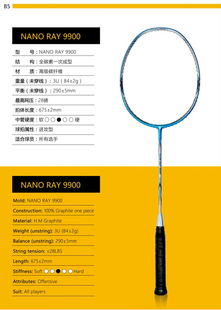 B5_Badminton Racket