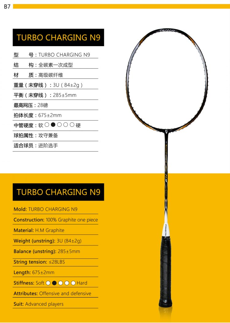 B7_Badminton Racket
