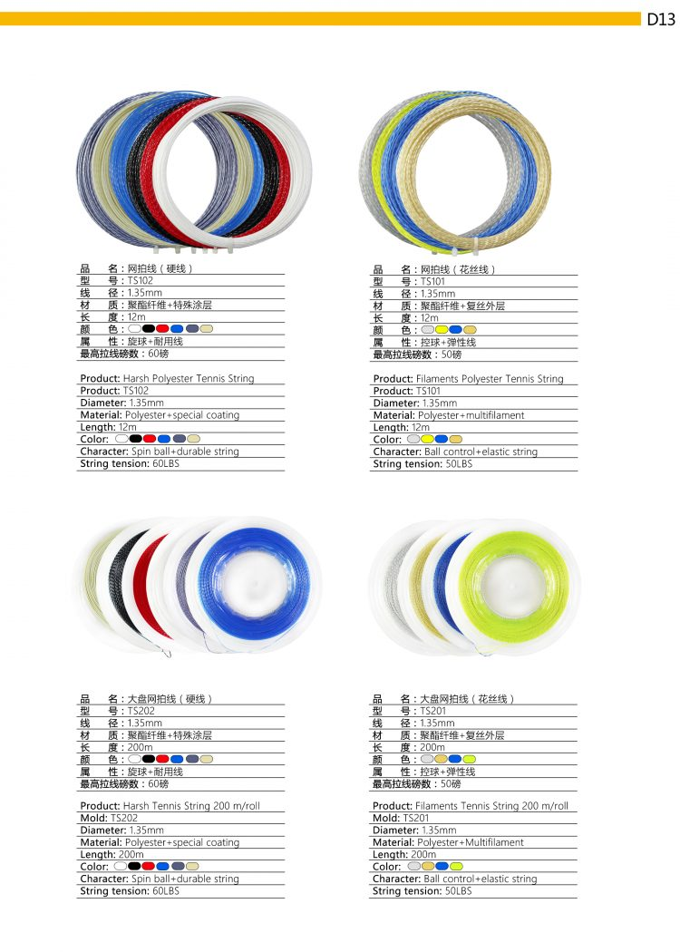 D13_Tennis String