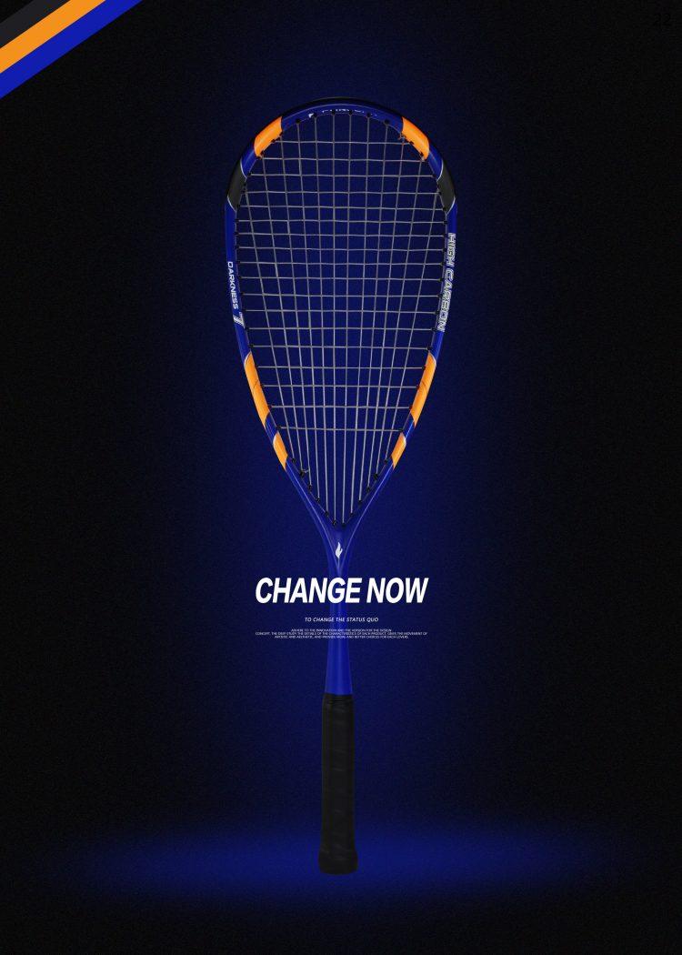 D1_Squash Racket